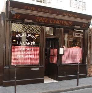 Chez L'Ami Louis, Paris. Photo: Flickr Creative Commons/F.X.Enderby (landed) [Steve Szczepanski]