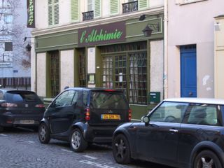 L'Alchimie Paris. Photo credit: John Talbott.