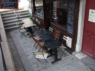 Cartouche Cafe, Paris. Photo credit: John Talbott.