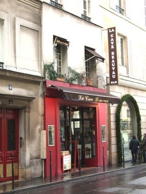 La Cave Beauvau Wine Bar Paris. Photo credit: John Talbott.