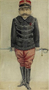 Major Ferdinand Walsin Esterhazy of Dreyfus Affair