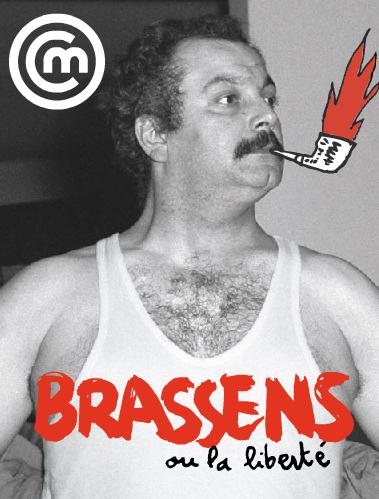 poster, Brassens ou la liberte ©Cite de la Musique