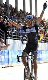 Van Summeren wins Paris-Roubaix ©GrahamWatson