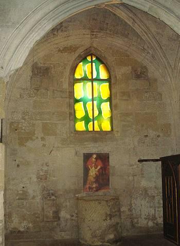 Vitraux de Villat, Aigues Mortes. Photo: Gachepi