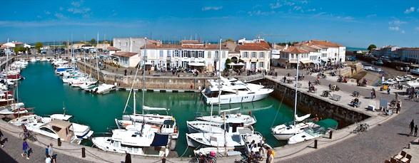 Saint-Martin-de-Ré harbor. Photo by Yann le Henand