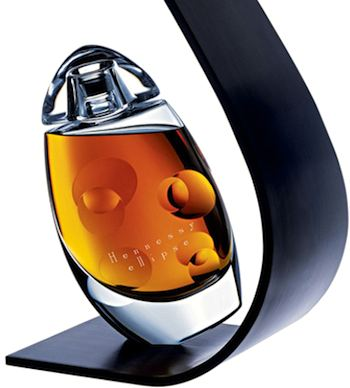 Collectible Hennessy Ellipse Cognac. ©Hennessy publicity photo.
