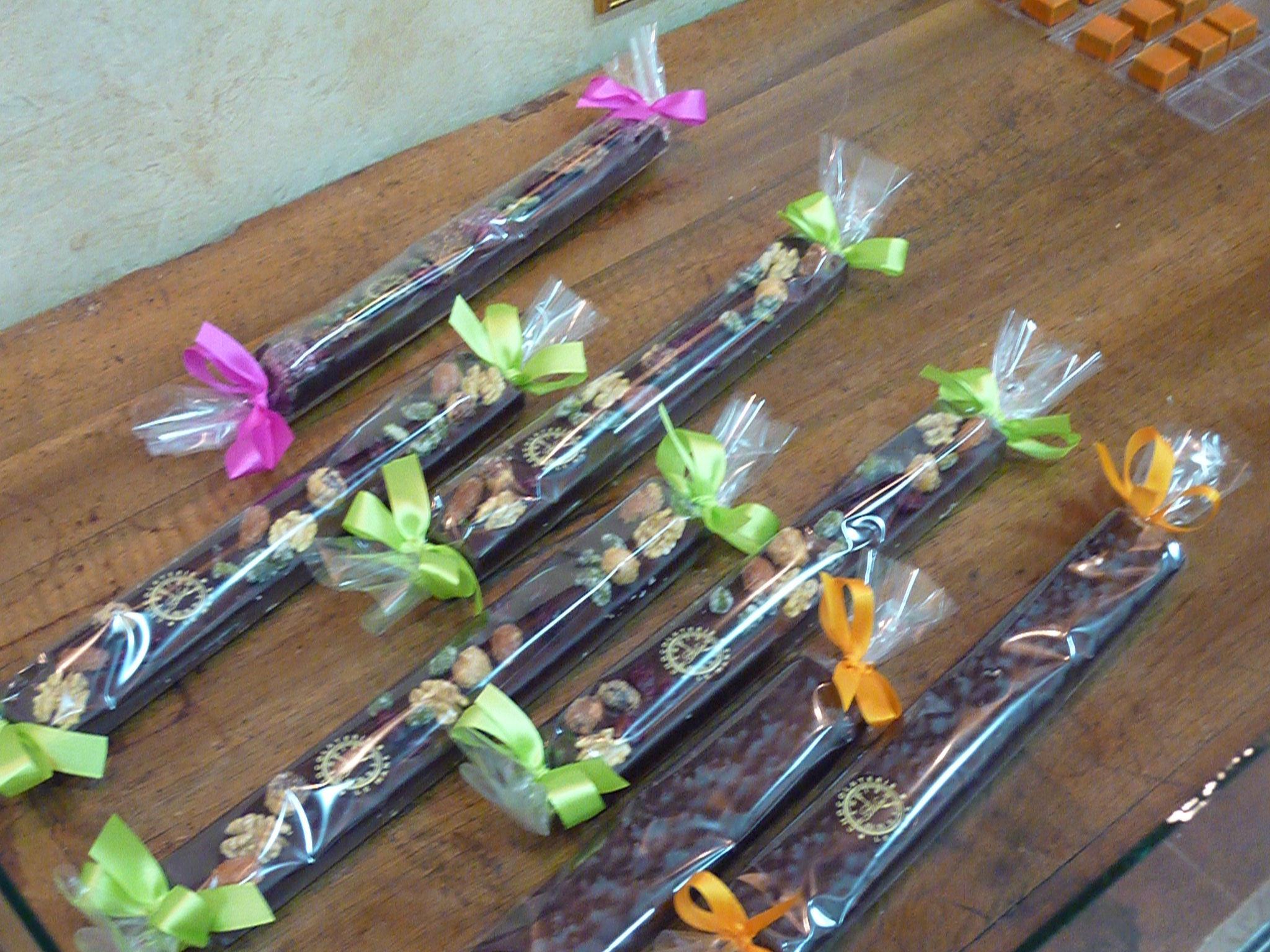 Chocolate Barrettes at Mococha