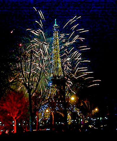Eiffel Tower New Year 2000. Photo credit: TalkingTree/Flickr Creative Commons.